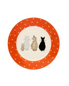 Ulster Weavers Cats in Waiting Side Plate