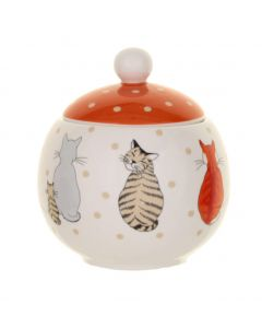 Ulster Weavers Cats in Waiting Sugar Bowl