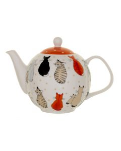 Ulster Weavers Cats in Waiting Teapot