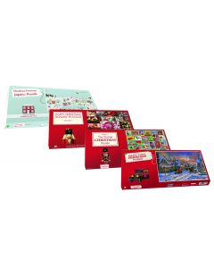 Christmas Jigsaw Puzzle Four Pack