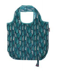 Ulster Weavers Clarissa Hulse Fern Leaves Blue Packable Bag