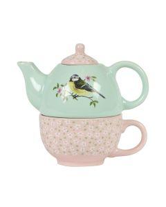 Garden Birds Teapot For One