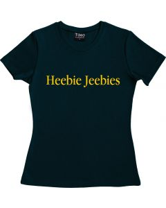 Heebie Jeebies Ladies T-Shirt