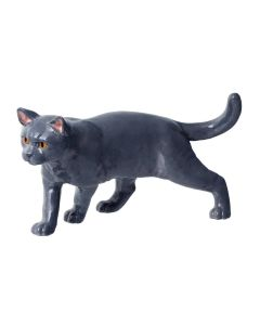 John Beswick British Shorthair Blue Figurine