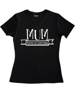 Master Of Everything Ladies T-shirt