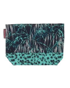Ulster Weavers Clarissa Hulse Meadow Grass Blue Oil Cloth Wash Bag