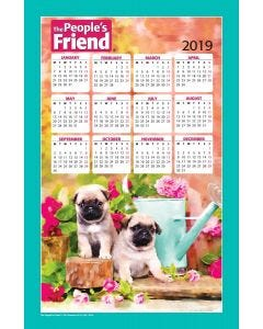 The People's Friend Tea Towel 2019