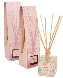 Reed Diffuser Pack - Geranium Rose and Cashmere Silk