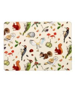 Ulster Weavers Madeleine Floyd Woodland Placemats 4-Pack