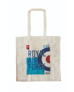 RAF Logo Canvas Shopper