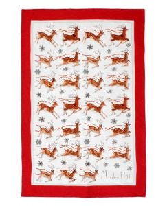 Madeleine Floyd Reindeer Tea Towel