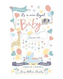 Royal Baby Tea Towel 2018