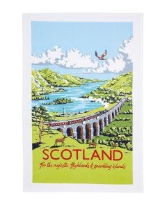 Ulster Weavers Kelly Hall Regional Tea Towel - Scotland