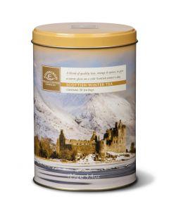 Scottish Winter Teabag Caddy