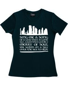 Outlander: Skye Boat Song Ladies T-shirt