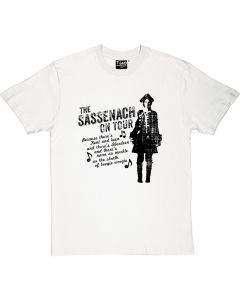Outlander The Sassenach On Tour T-shirt