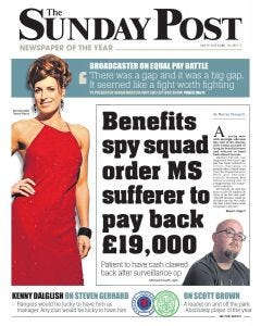 The Sunday Post Subscription - English Edition