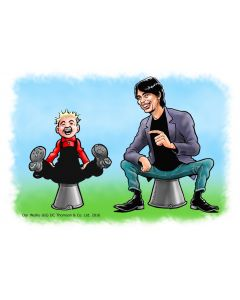 Oor Wullie and You - Personalised Print & Canvas Colour