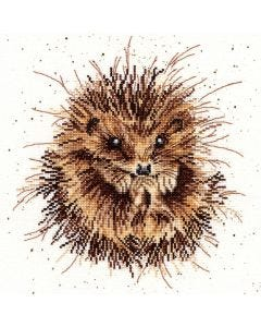 Wrendale Counted Cross Stitch: Hedgehog