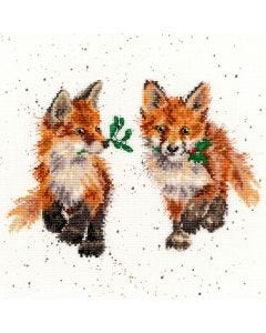 Wrendale Counted Cross Stitch: Foxes