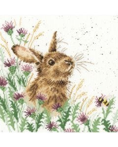 Wrendale Counted Cross Stitch: The Meadow