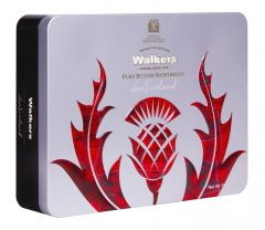 Walkers Thistle Shortbread Tin Pack
