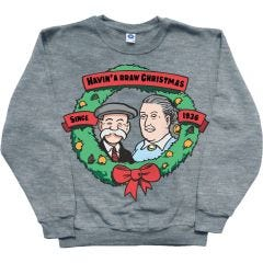 The Broons Christmas Wreath Jumper