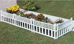 Fence Panels - White