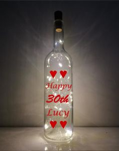 30th Light-up Bottle