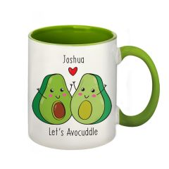 Let's Avocuddle Personalised Mug