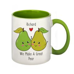 Great Pear Personalised Mug