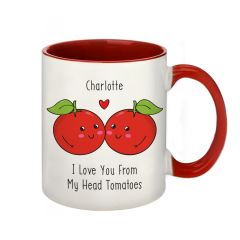 From My Head Tomatoes Personalised Mug
