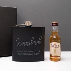 Hip Flask and Miniature Bells