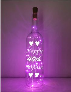 40th Light-up Bottle