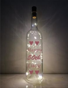 50th Light-up Bottle