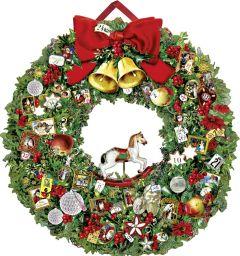 Victorian Wreath Advent Calendar