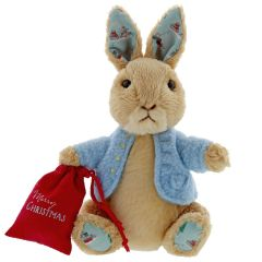 Peter Rabbit Christmas Soft Toy