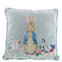 Peter Rabbit Cushion (Blue)