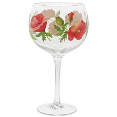 Poppies Copa Gin Glasses