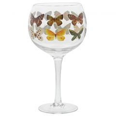 Butterflies Copa Gin Glasses
