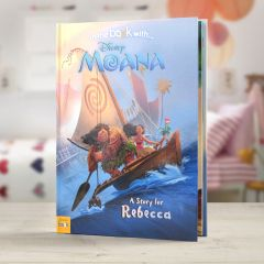 Personalised Disney Moana Story Book