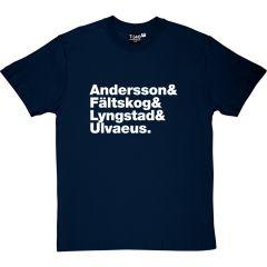 Abba Line-up T-shirt