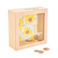 Sunflower Sunny Days Moneybox