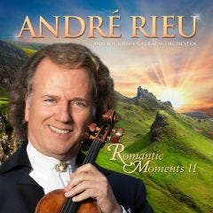 André Rieu Romantic Moments II CD/DVD