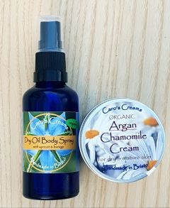 Argan Cream and Body Spray Set