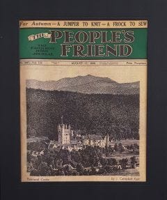 The People's Friend Cover Print - Balmoral Castle