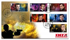 James Bond Collectable Stamps