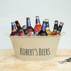 Personalised Beer Bucket