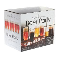 Dartington Beer Party Glasses 6 Pack