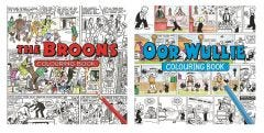 The Broons & Oor Wullie Colouring Book Pack